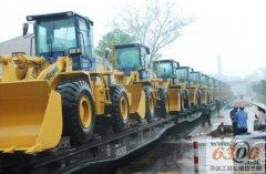 挖掘机运输专线